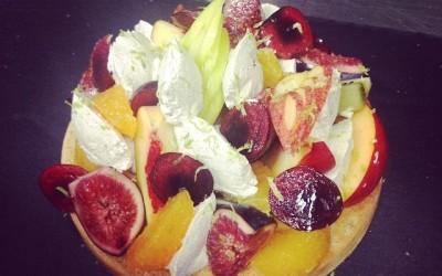 tarte aux figues et aux pommes